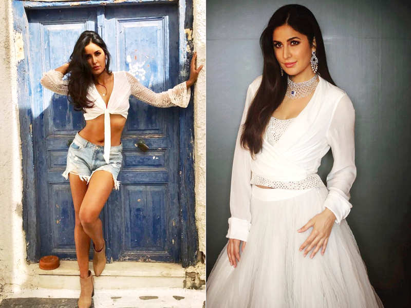 Katrina Kaif is heating up the summer in most gorgeous white outfits ever