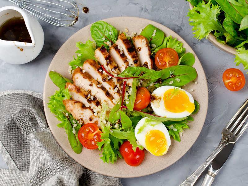 Chicken Salad Recipe In Hindi