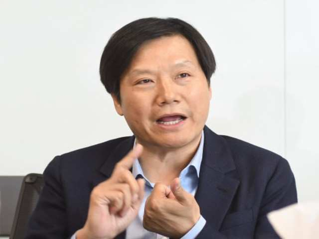 Xiaomi chief Lei Jun (File photo)