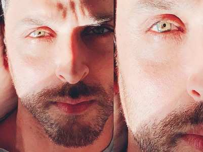 Hrithik shares selfies; Karan Johar comments