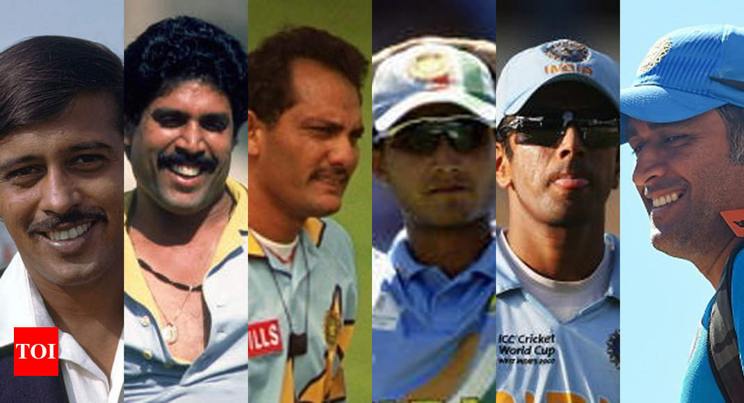 Leading the brigade: Profiles of India's World Cup captains