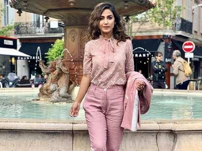 Hina goes easy with her outfit at Cannes