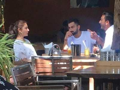 Anushka-Virat enjoy an afternoon in Goa