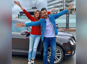 Chandigarh Amritsar Chandigarh: Pictures of Gippy Grewal and Sargun Mehta you can't miss