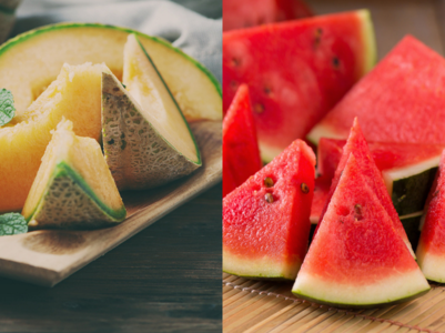 Watermelon or Muskmelon: the weight loss fruit