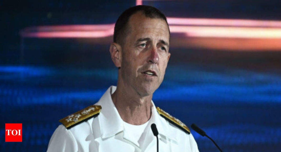 US navy chief does not want China tensions to 'boil over'