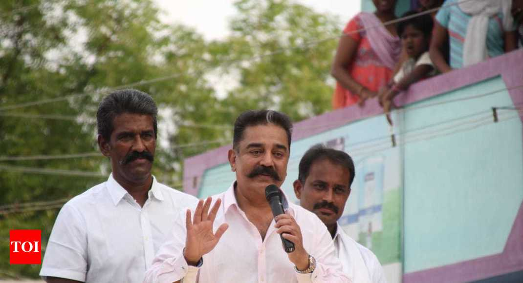 'Spoke historical fact': Kamal Haasan defends 'Hindu extremist' remark - Times of India
