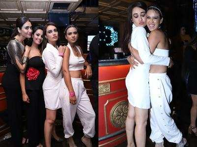 Celebs get together for a stylish night-out