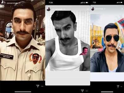 Simmba: Ranveer shares throwback pictures
