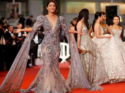 Pics: Hina's smashing debut at Cannes