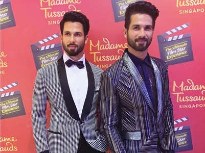 Photos: Shahid Kapoor unveils his wax statue