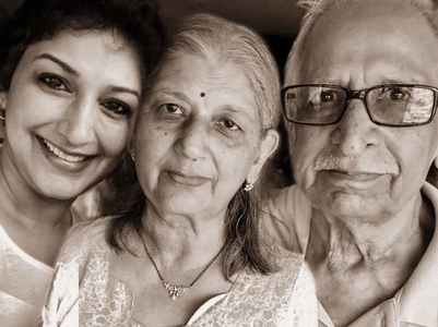Sonali pens a sweet wish for her parents