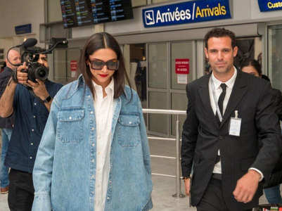 Deepika Padukone reaches Cannes