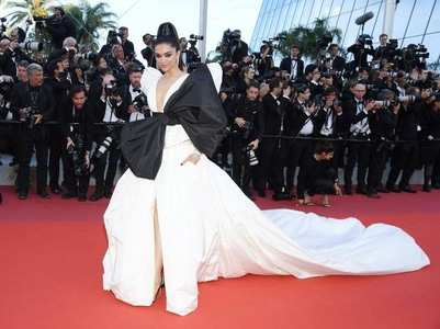 Cannes 2019: Deepika walks the red carpet