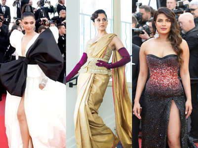 Deepika, Kangana and Priyanka go dramatic at Cannes