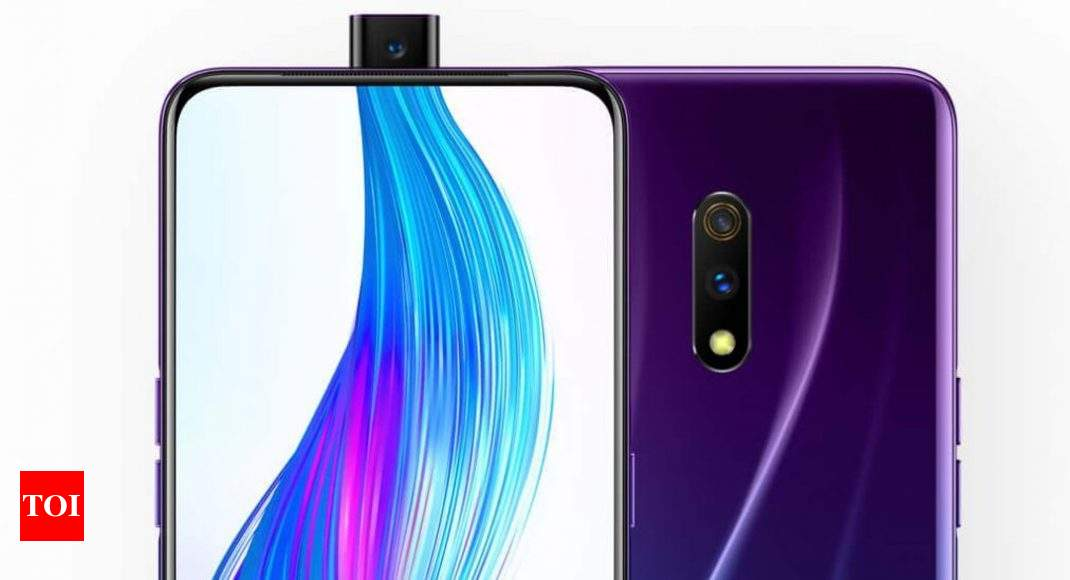 Realme X Realme X With Mp Pop Up Camera To Launch In India Soon Times Of India