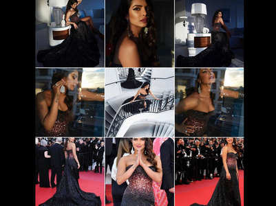 PC's Cannes pics: Fans ask if she's preggers