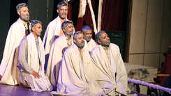 A play depicting displacement of communities staged in Lucknow