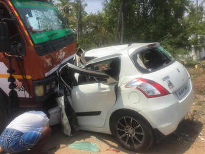 6 of a family killed in accident near Karur in Tamil Nadu | Trichy
