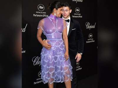 Cannes 2019: Priyanka and Nick share a kiss
