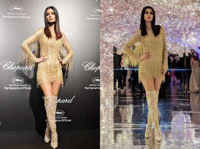 Diana glitters like gold her Cannes debut