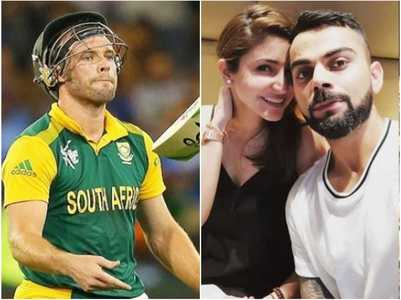 AB de Villiers is all praise for Virushka