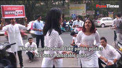 A Street play on role of youth in politics