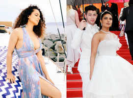 Cannes 2019: What Diana, Huma, Kangana & Priyanka wore