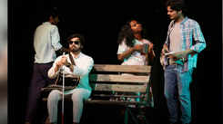 Hinglish play Swamy's Sound Studio was staged at Abhivyakti festival in Ahmedabad recently