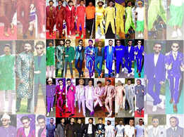 "Ranveer Singh's latest Instagram post is a ""shade card"" of all his pictures"