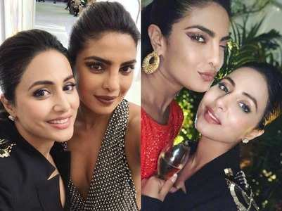 Hina thanks PeeCee for introducing her as star