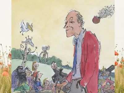 10 splendiferous words invented by Roald Dahl
