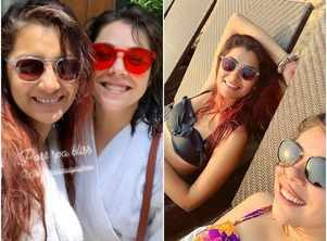 Sriti Jha enjoys vacation with her BFF