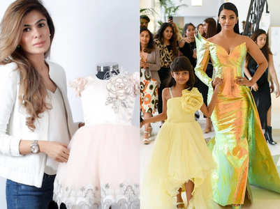 Aaradhya Bachchan's Cannes 2019 outfit designer details revealed