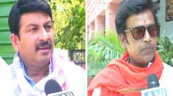 Bhojpuri actors Manoj Tiwari, Ravi Kishan hail results of exit polls