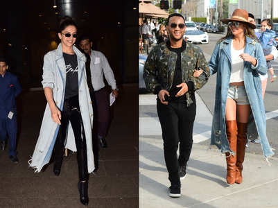 Deepika Padukone and John Legend's wife wore the same jacket!