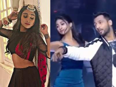 YRKKH's actress Mohena dances gracefully