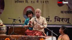 Unique performance of Pandit Birju Maharaj