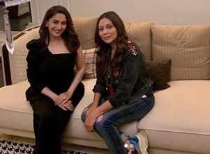Gauri Khan's fan-girl moment with Madhuri