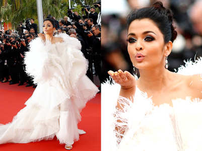 Is this Aishwarya's HOTTEST Cannes' look ever?