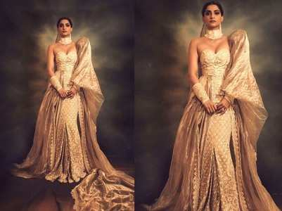 Sonam's royal avatar for Cannes after-party