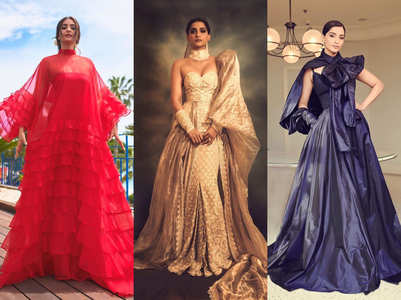 You can't miss Sonam's 3 hot looks at Cannes