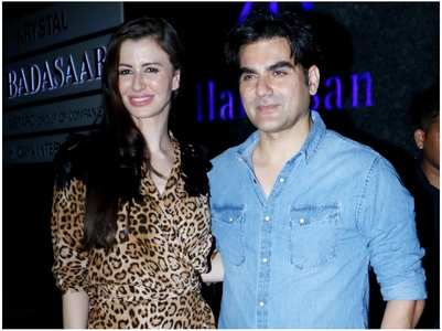 Arbaaz celebrates Giorgia's bday with family