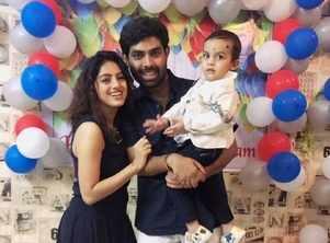 Deepika Singh celebrates son's 2nd birthday