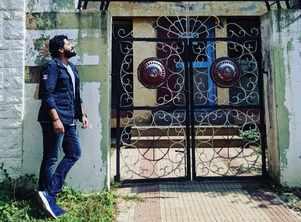 Prajwal Devaraj feels blessed to shoot in the factory where his father Devaraj used to work
