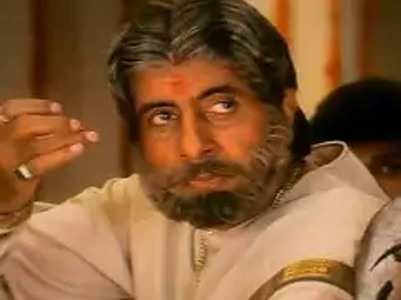 Big B on frequent telecast of 'Sooryavansham'