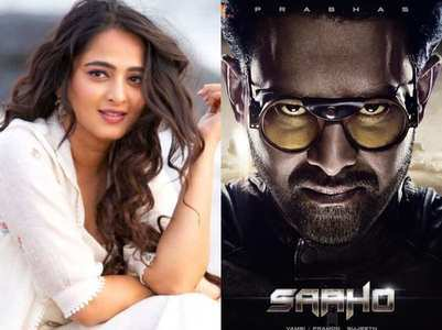Anushka shares first look of Prabhas' 'Saaho'