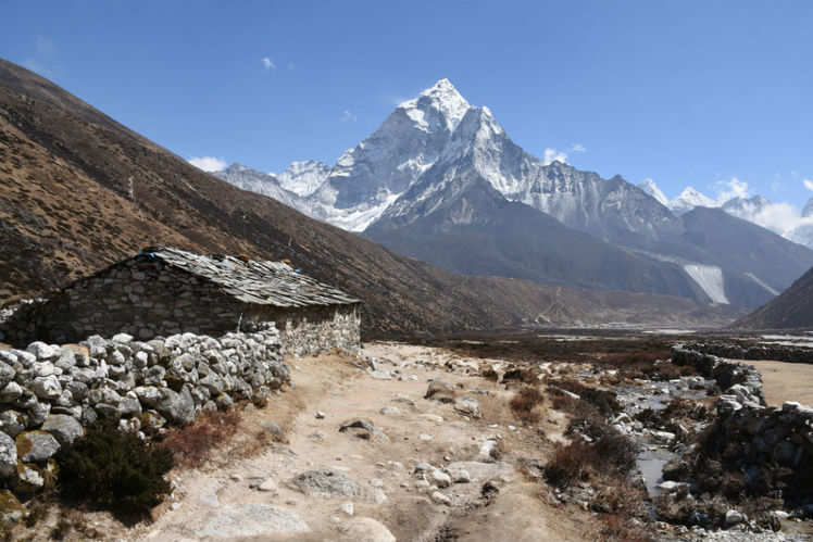 Day 10 - Trek to Kalapathar retreat to Pheriche