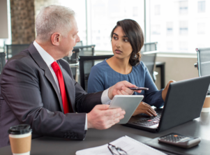 Are male employees hesitant to work with female colleagues?