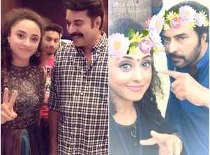 Pearle flaunts her love for Mammootty